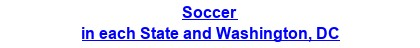 Soccer in each State and Washington, DC
